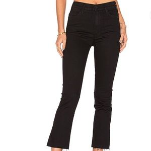 Mother The Hustler Ankle Fray Jeans Not Guilty 34